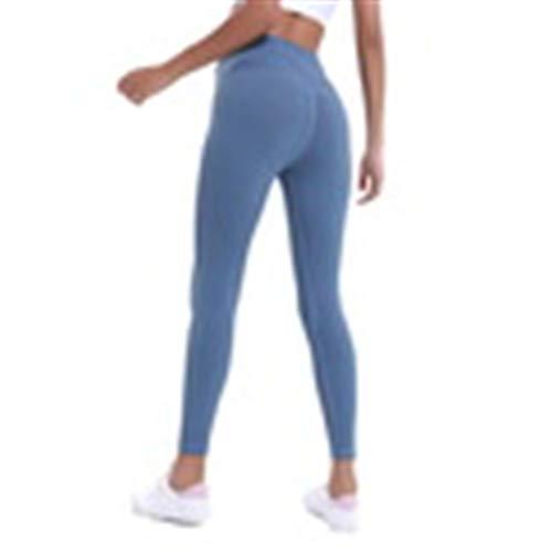 GFDHGT Solid Heart-Shaped Yoga Tanzen Laufen Gym Energie Nahtlose Leggings Hohe Taille Sport Leggings Frauen Hosen L