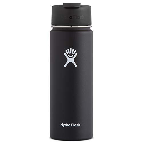 Hydro Flask Travel Coffee Flask, 20 oz, Black
