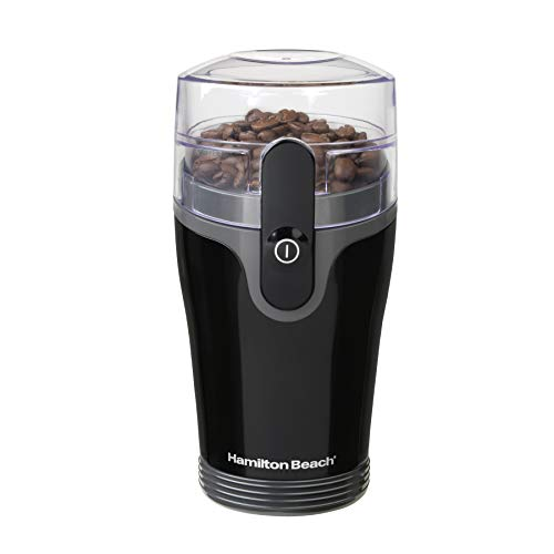 Hamilton Beach Fresh Grind 4.5oz Electric Coffee Grinder for Beans, Spices and More, Stainless Steel...