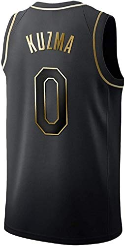Uniforme Lakers NBA, algodón Puro, Kyle Kuzma # 0 Camisa del Baloncesto, Chaleco sin Mangas Unisex (Color : C, Size : X-Small)