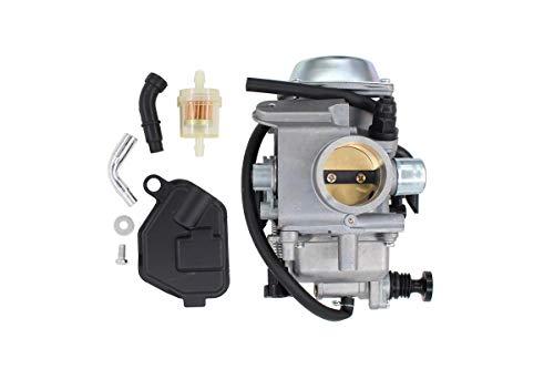 Carburetor w/ Filter Carb for Honda Big Red FourTrax 250 300 TRX250 TRX300 Foreman 400 450 TRX400FW TRX450FE Rancher 350 ATV