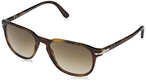 Persol Women's PO3019S Designer Sunglasses, Havana/Brown Gradient