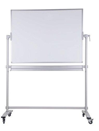 Dynamic-Wave mobiles Whiteboard 180cm x 100 cm, mit gratis Markern, Magneten und Schwamm