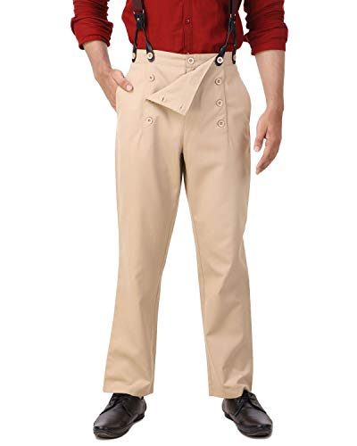 fall front trousers