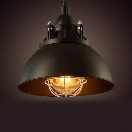 hj Guo Home Vintage Lampadari American Industrial Fans Bar Creativity Coperchi in Ferro Pot Ristoranti Lampade (I) 31 * 33Cm