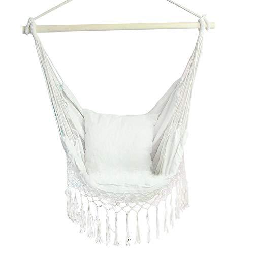 Letway INS Nordic Style Variable Tassel Hanging Chair Swing Garden Hamaca Interior y Exterior Hamaca de Ocio