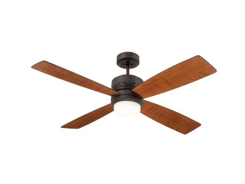 Emerson Ceiling Fans CF430ORB Highrise Modern Ceiling Fan With Light And Wall Control, 50-Inch Blades, Oil Rubbed Bronze Finish