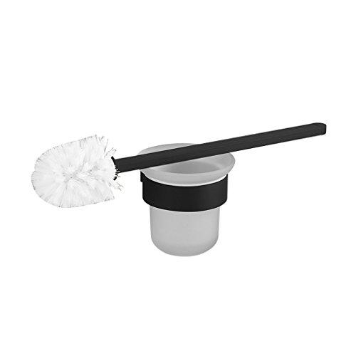 Encre Noire Moderne Brosse De Toilette Simple Set Brosse Support Salle De Bain Accessoires De Salle De Bain XXPP