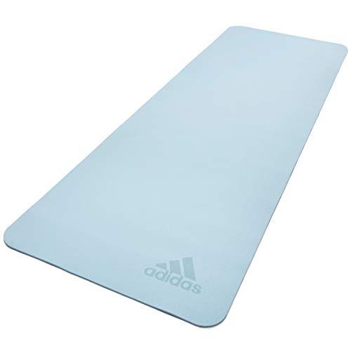 adidas Esterilla de Yoga Premium-5mm-Tinte, Unisex-Adult, Tinte del Cielo