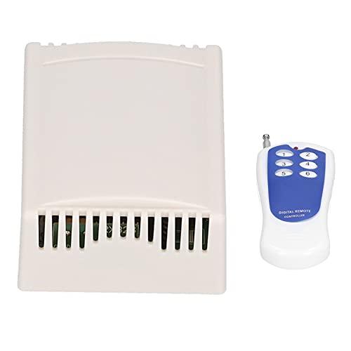 Interruptor de control remoto, módulo de relé receptor inalámbrico de alta potencia...