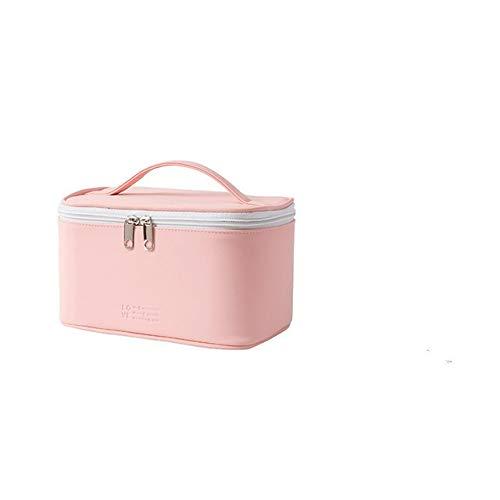 PoplarSun Sac de Maquillage de la capacité à la Main Haute Femmes PU Stockage Portable Souple imperméable Sac à cosmétiques Lavage Sac de Bonbons de C