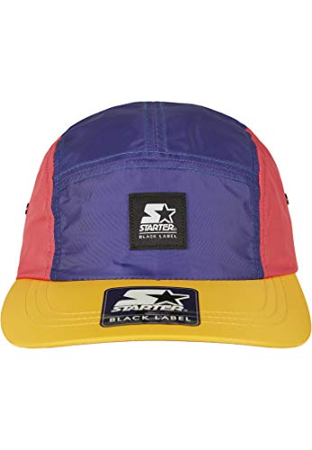 STARTER BLACK LABEL Starter Multicolored Logo Patch Jockey Cap Gorra de béisbol, Colorido, One...