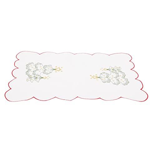 Sawyerda Geborduurde Placemat Keuken Tafel Decoratie Kom Pad Kerst Serie Geborduurde Placemats