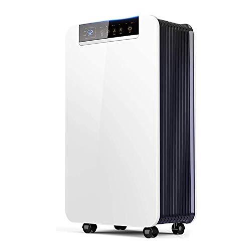 SZHWLKJ Deshumidificador portátil y compacto de 30 litros, pantalla digital, drenaje continuo y función de temporizador de 24 horas, ideal for hogar y oficina, húmedo, control de moldes, secado de lav