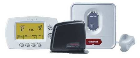 Honeywell Yth6320r1114 Wireless Focus PRO Wifi Thermostat Kit with Gateway Control Your Thermostat From Anywhere