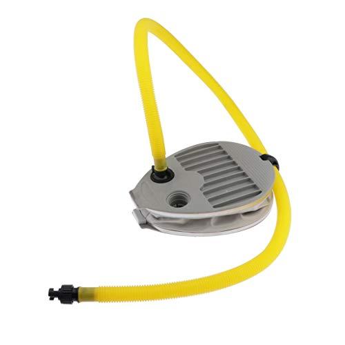HomeDecTime Bomba de Pie Bomba de Aire para Barco de Pesca Inflable Kayak Board Colchón de Aire