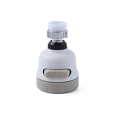 GAKIN Grifo giratorio 360 grifo grifo de extensión de fregadero de cocina accesorios blanco 1 pieza