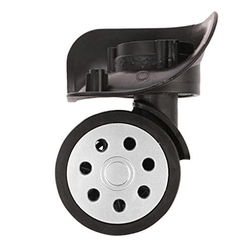 TWDYC 4pcs Equipaje 360 Rueda giratoria Maleta de Repuesto de la Maleta Accesorio de reparación de Ruedas de Equipaje para Maletas