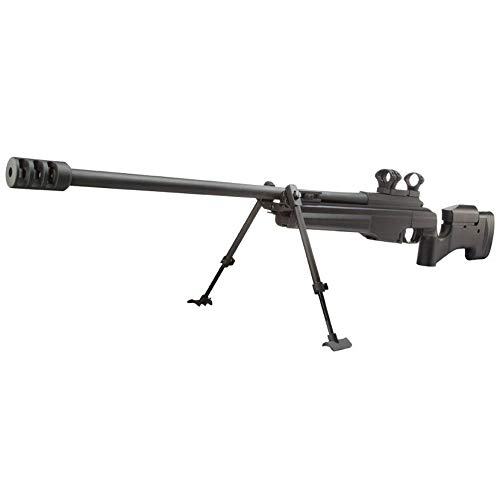 Ares Airsoft Sniper MSR-009 Gama Media de Gas Negro (0,5 Julios)