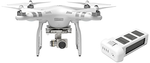 DJI Phantom 3 Advanced Quadcopter Drone Bundle with Extra Battery