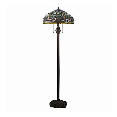 SCAYK Tallas de Flores de 16 Pulgadas Estilo Pastoral Europeo Elegante de Lujo Creativo de Lujo Hecho a Mano lámparas de lámparas de pie de Cama para dormitorios lámpara de Noche