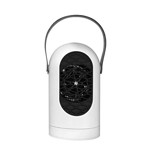 XJJZS Mini Calentador, Calentador del Invierno del Calentador de Aire del Ventilador La protección Perfecta for el Dormitorio Principal Tamaño 20.7 * 11.5cm