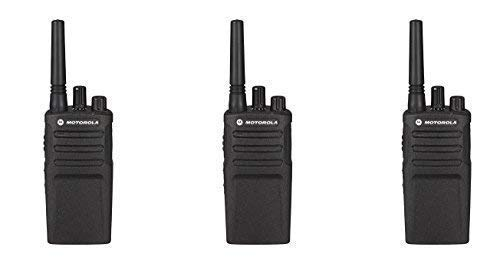 3 Pack of Motorola RMU2080 Business Two-Way Radio 2 Watts/8 Channels Military Spec VOX