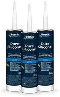 Bostik Pure Silicone Sealant (Clear)
