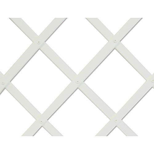 Intermas Treillis extensible blanc 0,5 x 1,5 m