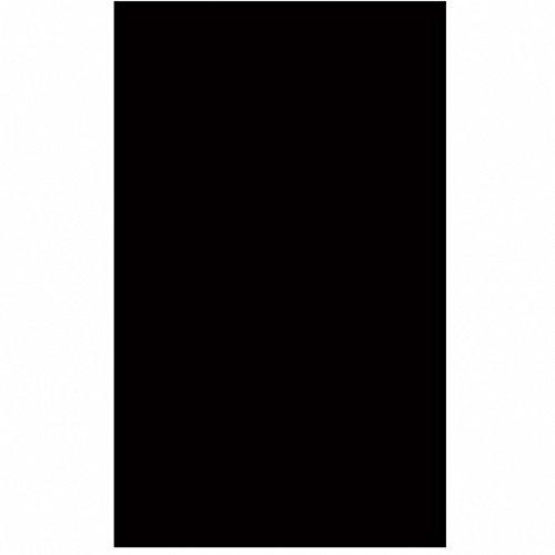 Amscan tafelkleed, rond, kunststof, zwart