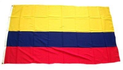 FahnenMax–Bandiera Colombia, 150x 90cm