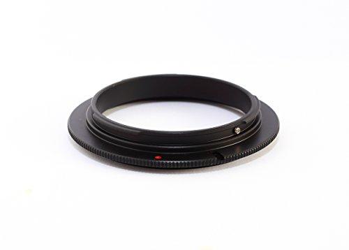 Adaptador inversor Macro Anillo de 58mm para Montura Canon EF EF-S