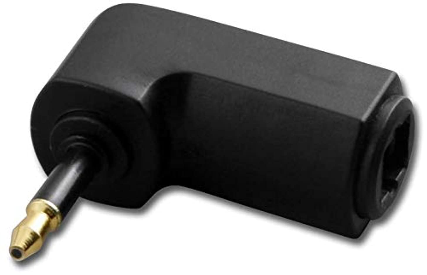 Toslink Jack to 3.5Mm Plug Adaptor Right Angle