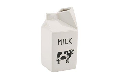 Novelty Caraffa design cartone del latte Brocca in ceramica disegno Novelty (418)