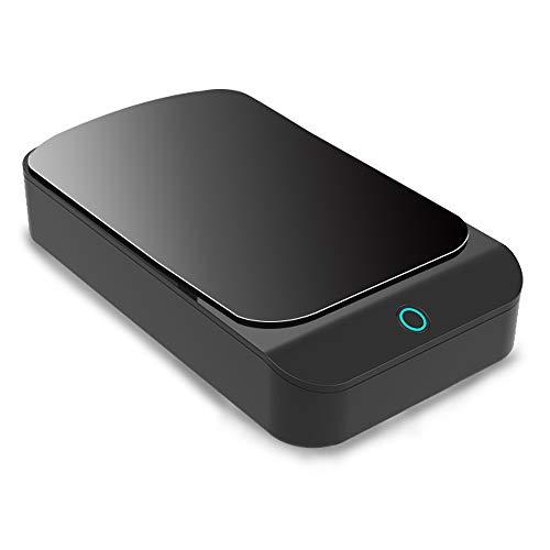 ANOLE UV Sterilisator Tragbares Desinfektion Gerät Mini Desinfektor Kasten Desinfektions Box Reinigung Werkzeug mit USB-Anschluß für Mobiltelefone,Nagelzange,Schlüssel,Zahnbürste und anderen Artikel