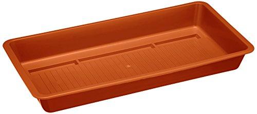 Plastkon Accessoires Soucoupe Poils Extra 40 cm Terre Cuite/Marron