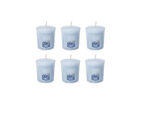 Yankee Candles - Juego de 6 Velas votivas para el hogar, diseño de Paseo en la Playa