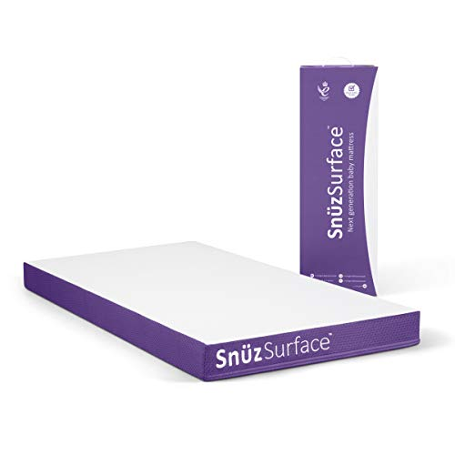 Snuzsurface Adaptable Cot Bed Mattress (Snuzkot 68 x 117cm)
