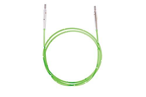 KnitPro KP42177 Smart Cable: Colour Coded: Green: 126cm, Nylon, grun