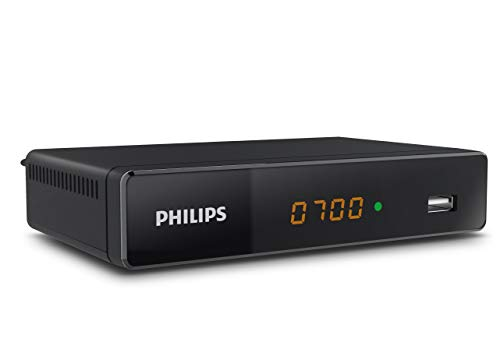 Philips NeoViu S2 HDTV - Satelliten Receiver (Sat, DVB-S, SVB-S2, Full-HD, HDMI, Scart, USB Display) schwarz