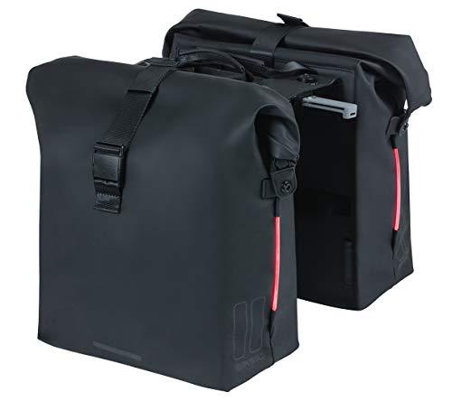 Basil Unisex 2179247505 Fliege und Kummerbund Set, schwarz, Einheitsgröße