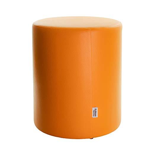 Tabouret orange Ø 34 x 44 cm
