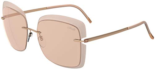 Silhouette Gafas de Sol ACCENT SHADES 8165 Rose Gold/Pink Grey talla única mujer