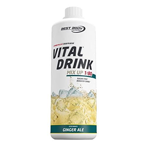3 x Best Body Nutrition Vital Drink ZEROP, 1L Flasche , Kaktus-Feige (3er Pack)