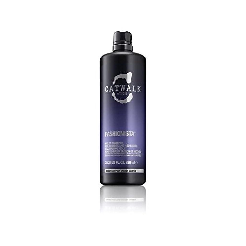 考古学者聴衆適性Tigi Catwalk Fashionista Violet Shampoo (750ml) (Pack of 6) - ティジーキャットウォークファッショニスタ紫シャンプー(750ミリリットル) x6 [並行輸入品]