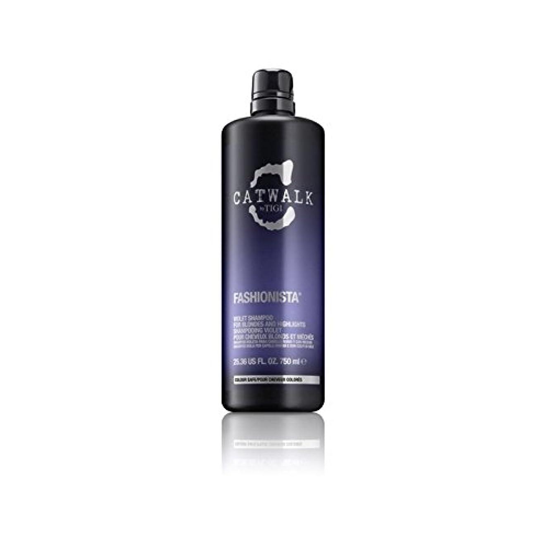変換適合しました転用ティジーキャットウォークファッショニスタ紫シャンプー(750ミリリットル) x2 - Tigi Catwalk Fashionista Violet Shampoo (750ml) (Pack of 2) [並行輸入品]