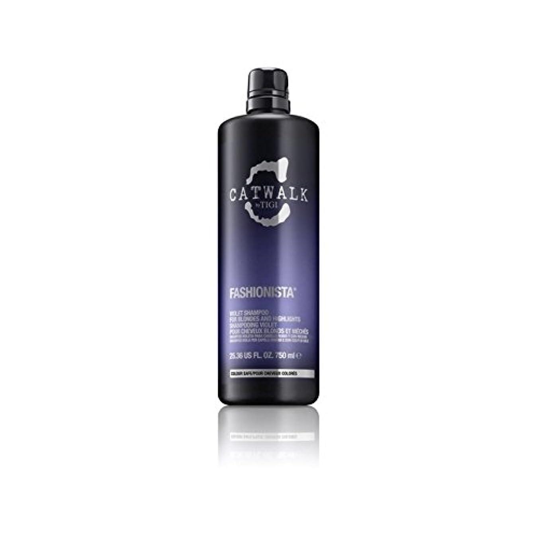藤色スケッチ有効Tigi Catwalk Fashionista Violet Shampoo (750ml) (Pack of 6) - ティジーキャットウォークファッショニスタ紫シャンプー(750ミリリットル) x6 [並行輸入品]