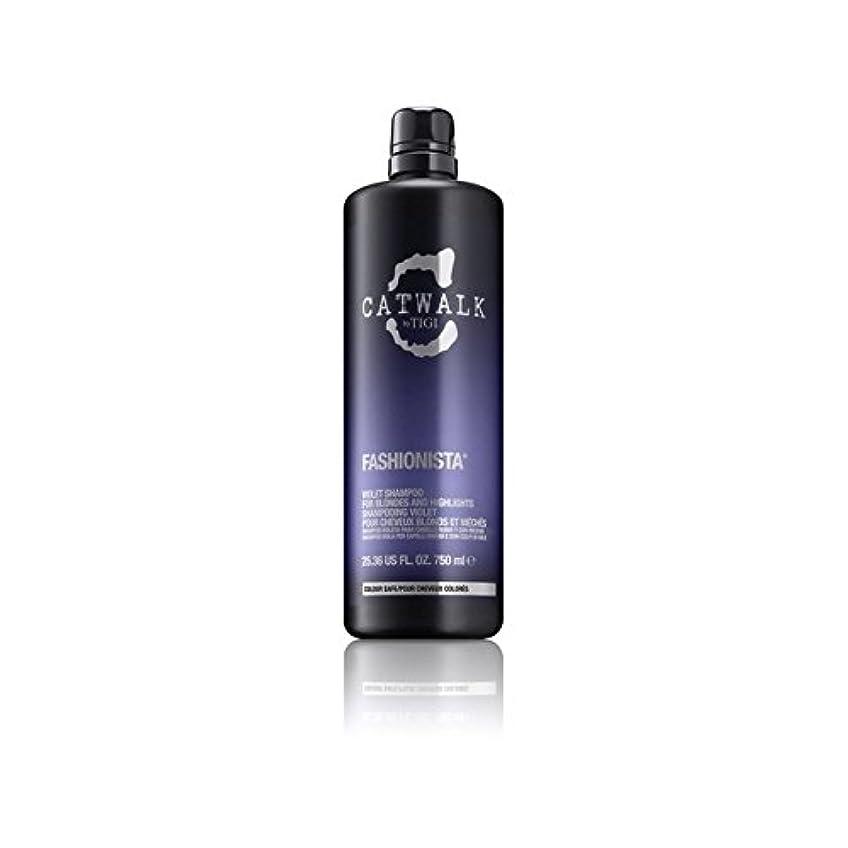 憂鬱な優れましたボウリングティジーキャットウォークファッショニスタ紫シャンプー(750ミリリットル) x4 - Tigi Catwalk Fashionista Violet Shampoo (750ml) (Pack of 4) [並行輸入品]