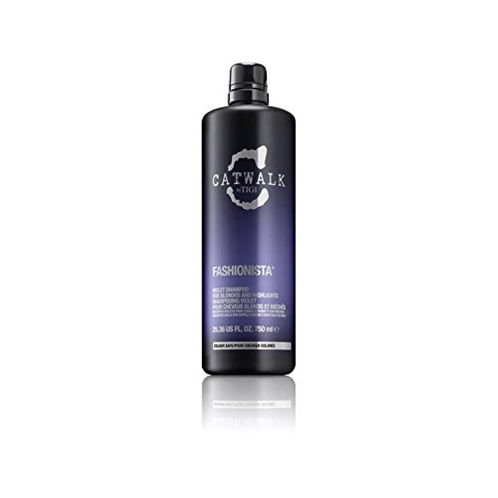 有益モデレータスイングTigi Catwalk Fashionista Violet Shampoo (750ml) - ティジーキャットウォークファッショニスタ紫シャンプー(750ミリリットル) [並行輸入品]
