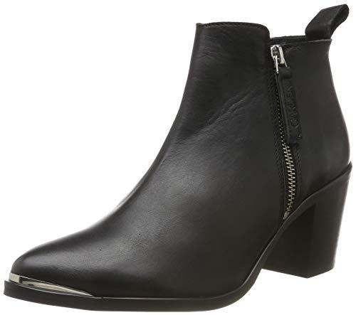 GARDENIA COPENHAGEN Damen Short Boot with Zip Both Sides Kurzschaft Stiefel, Schwarz (Black 10), 39 EU